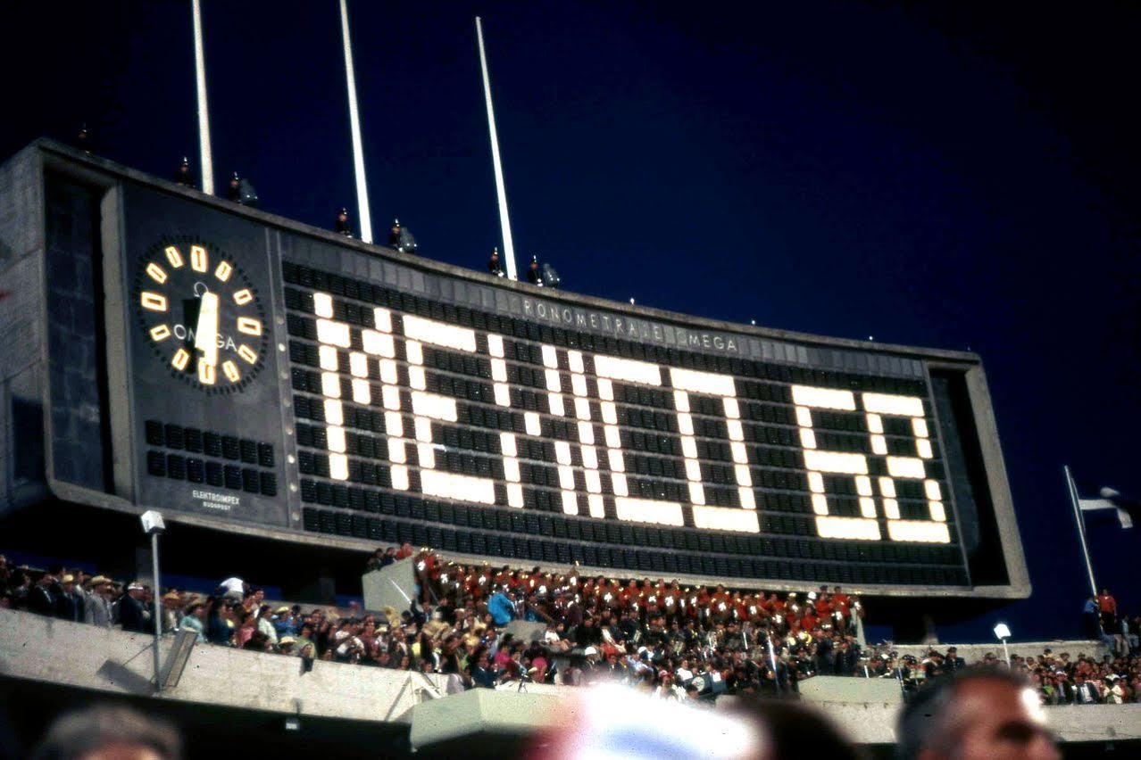 Juegos Olimpicos 1968 Y El 2 De Octubre En Tlatelolco