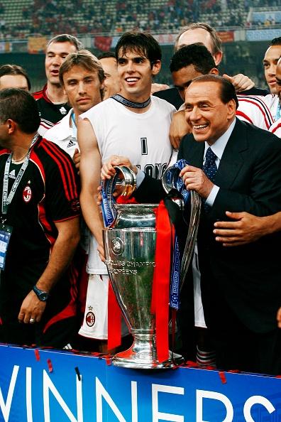 Kaká Silvio Berlusconi Milán Los Pleyers