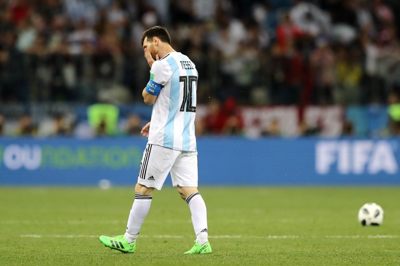 Leo Messi, Fernando Niembro, Argentina, México Los Pleyers