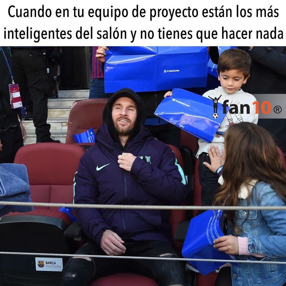 Messi Memes Camp Nou