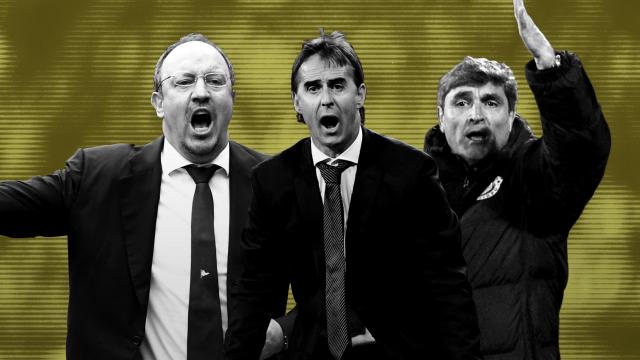 Real Madrid, Entrenador, Español, Fracas