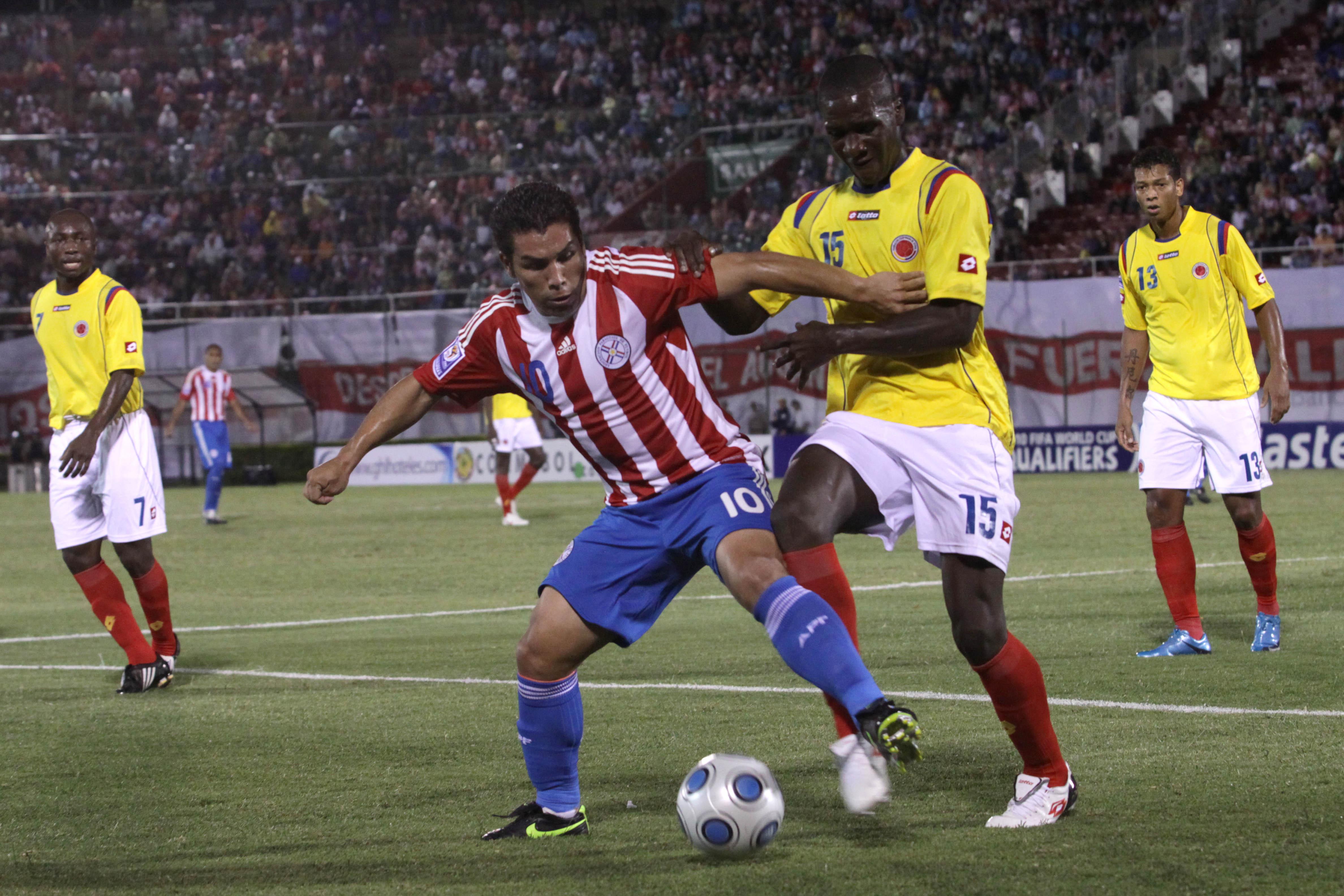 Salvador Cabañas, Balazo, América, Paraguay