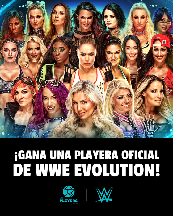 WWE Evolution Promo Regalos