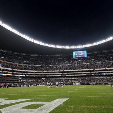 NFL Mexico Estadio Azteca Rams Chiefs Cancelacion Cancha
