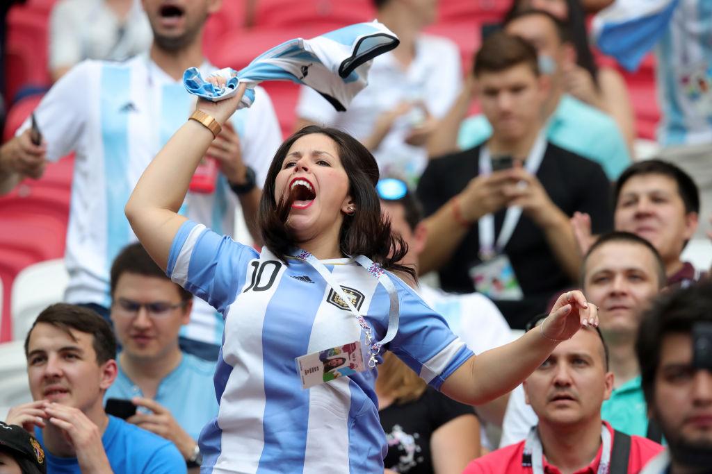 Aficionados Argentina Rusia 2018 Los Pleyers