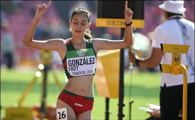 Alegna González Atletismo Los Pleyers
