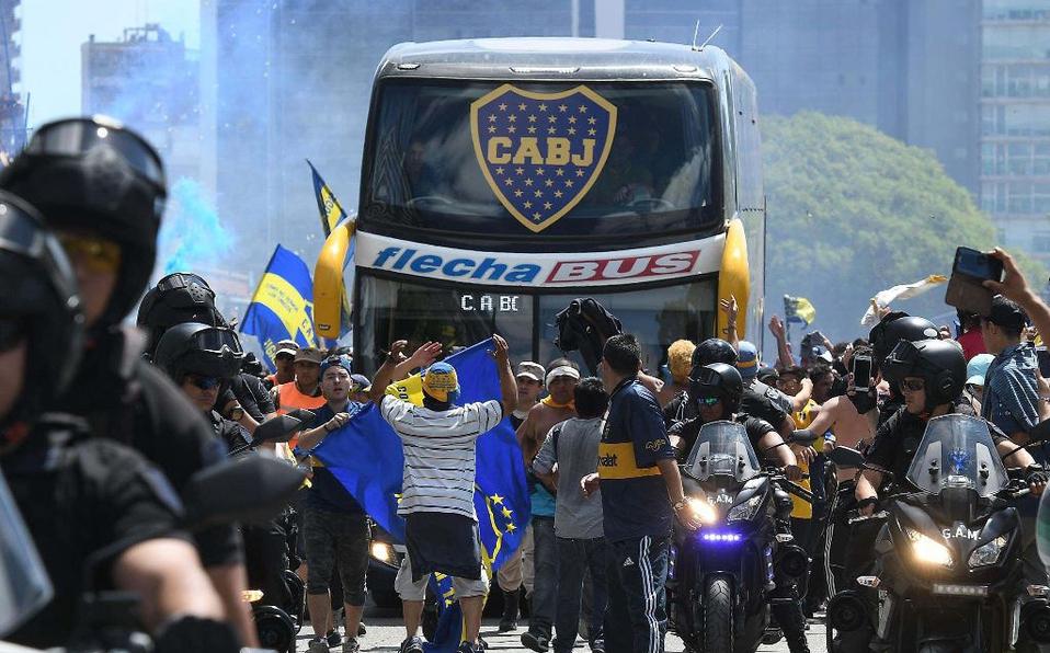 Boca Juniors, Video, Ataque, Autobus