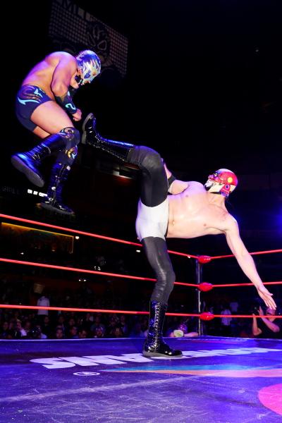 Campeón Peso Medio, Resultados, CMLL, Cuatrero, Lucha Libre