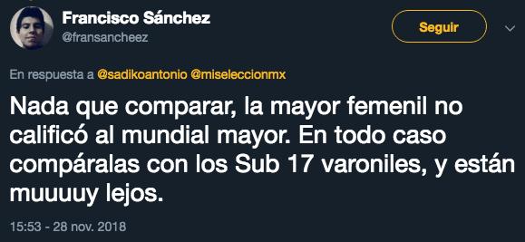 Mundial Sub-17, México, Reacciones, Femenil, Final