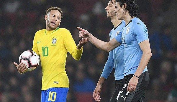 Cavani Neymar Encaran Brasil vs Uruguay Los Pleyers