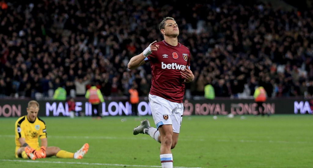 Chicharito Gol West Ham Video Los Pleyers