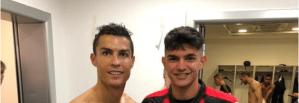 Giorgio Chiellini, Cristiano Ronaldo, Raoul Bellanova, Desnudo Los Pleyers