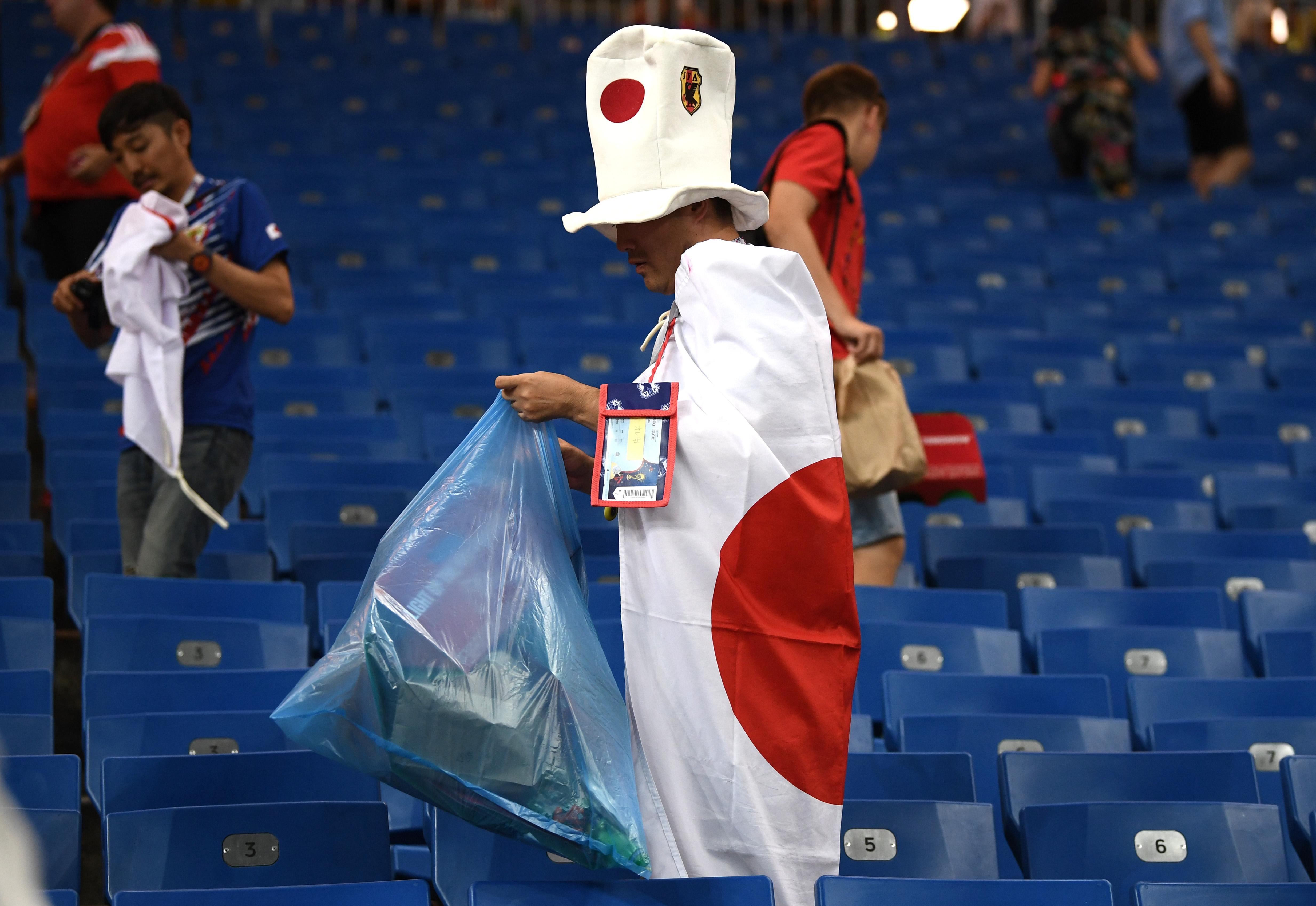 Japón Afición Rusia Mundial 2018