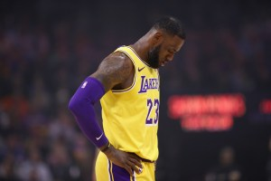 LeBron James, Los Angeles, Lakers, Basura Los Pleyers