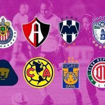 Liga MX Femenil, Apertura 2018, Liguilla, Equipos Los Pleyers