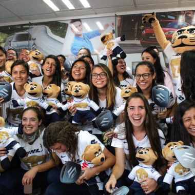 Liga MX Femenil, Apertura 2018, Pumas, Carros Los Pleyers