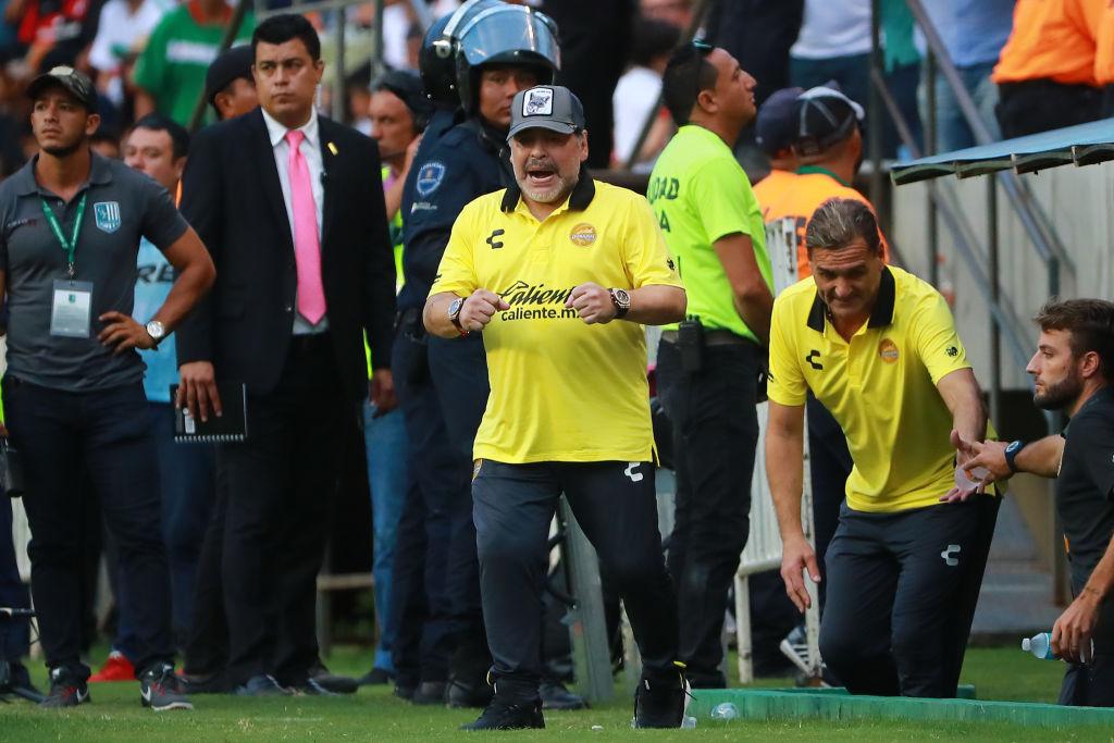 Diego Maradona Dorados Los Pleyers
