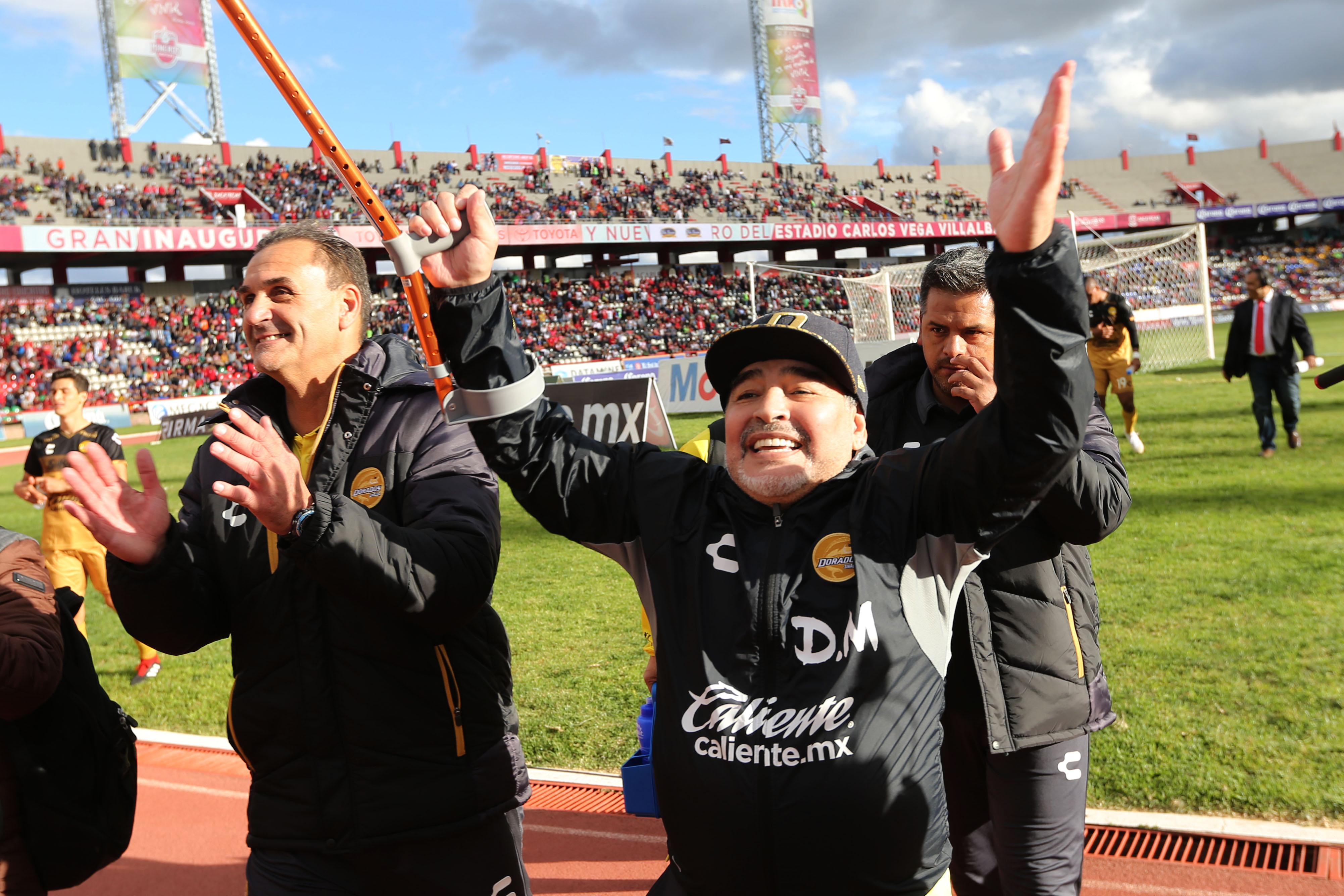 Maradona Récord Dorados Entrenador Los Pleyers