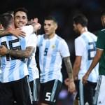 Argentina México Reacciones Goles Resultado Dybala Messi