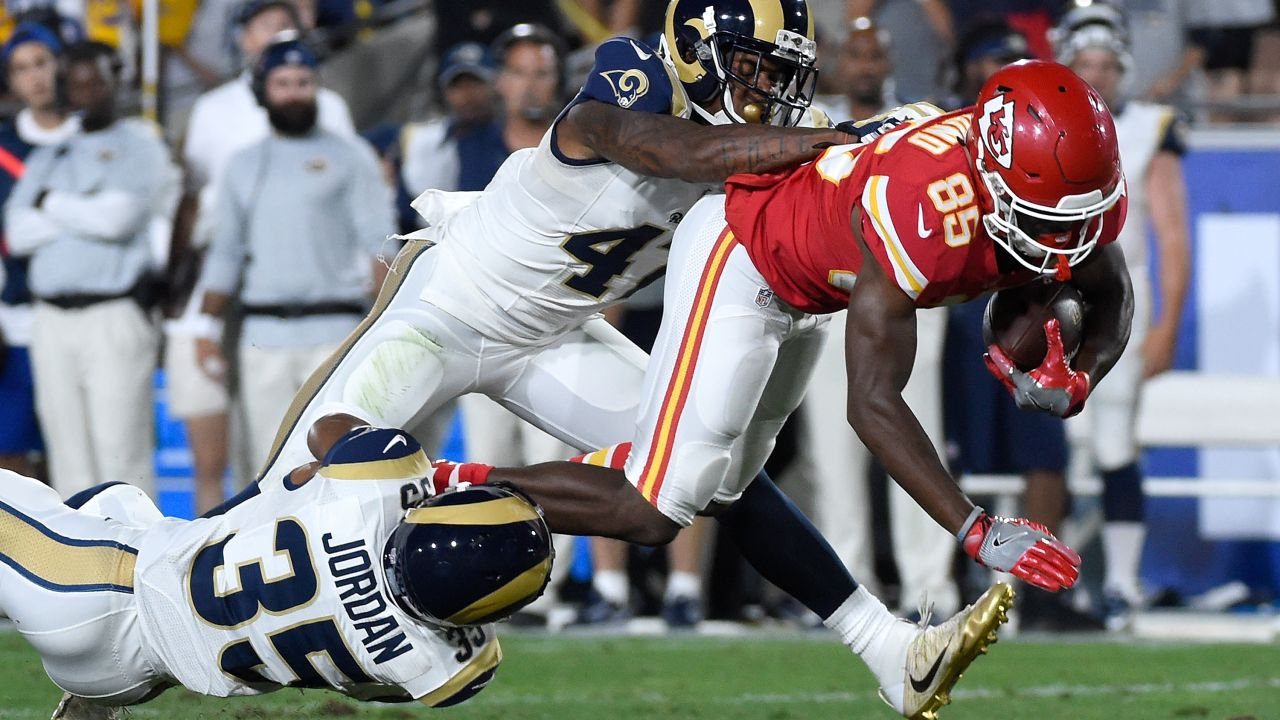 Monday Night Football, NFL Mexico, Rams, Chiefs Los Pleyers