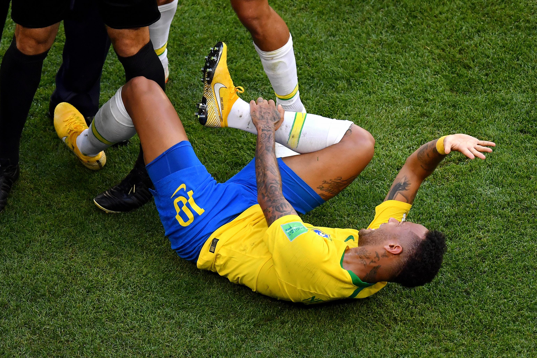 Neymar Mundial Rusia 2018 Caídas
