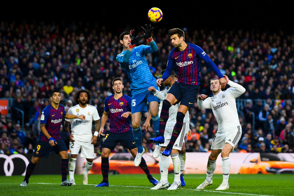 Real Madrid Barcelona Los Pleyers