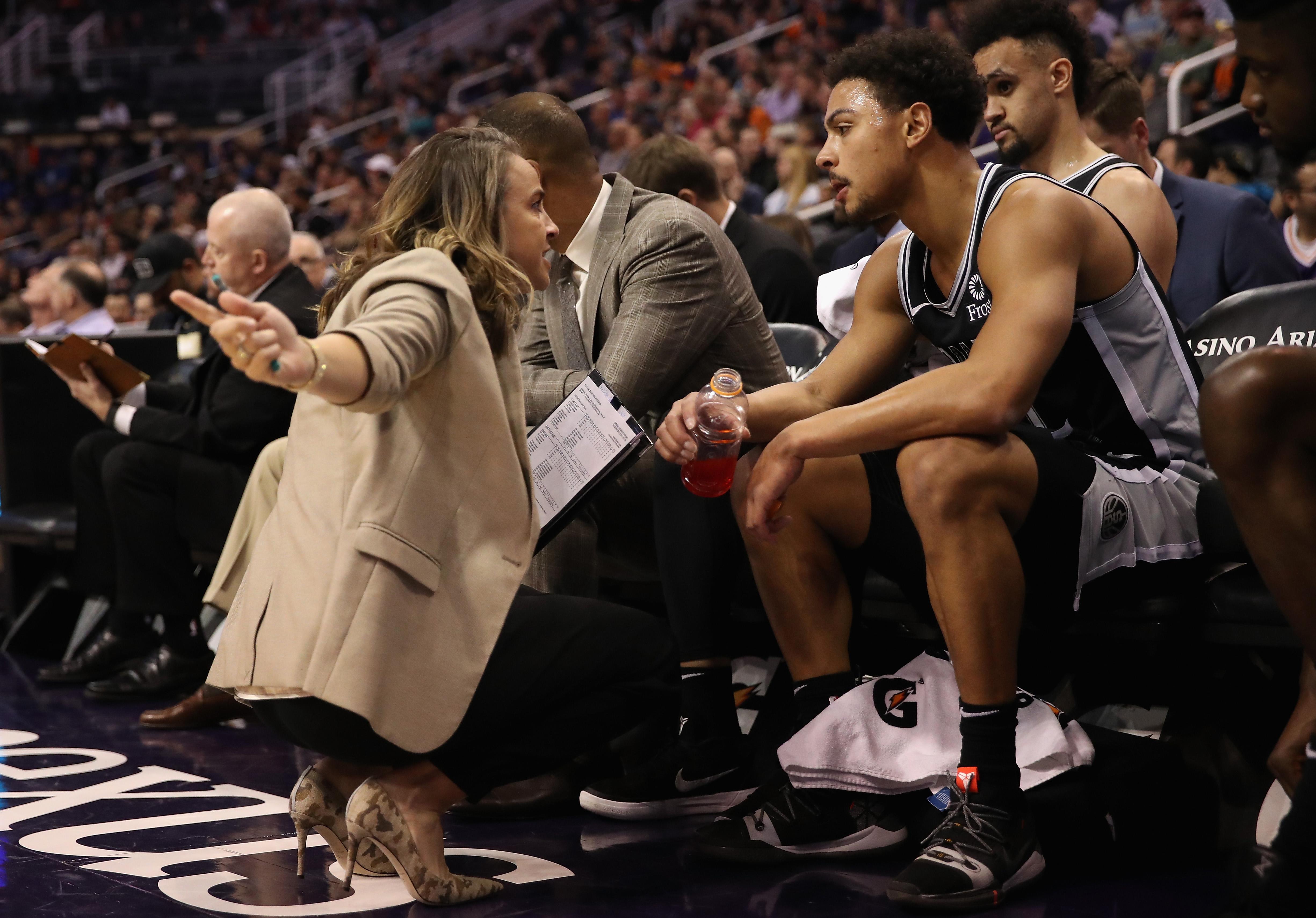 San Antonio Spurs, Becky Hammon, NBA, Sexismo Los Pleyers