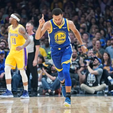 Stephen Curry, Riley Morrison, Tenis, NBA Los Pleyers