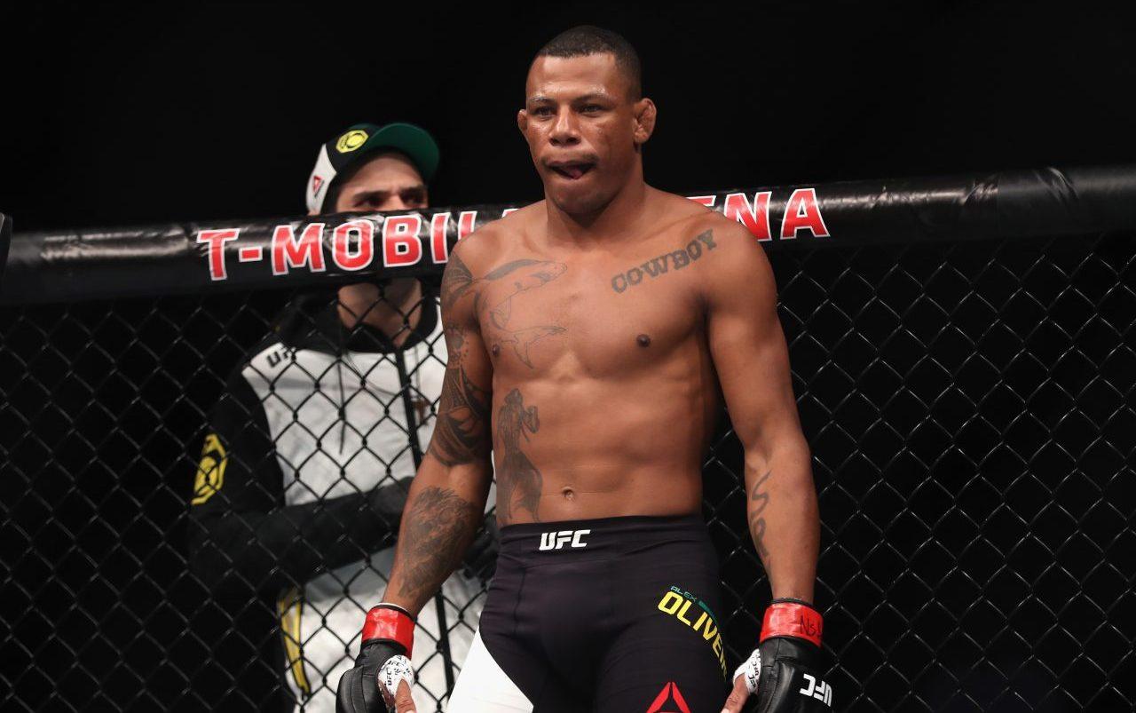 Alex Oliveira, UFC, Explosión, Granada, MMA