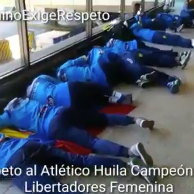 Campeonas Libertadores Atlético Huila Piso CONMEBOL Colombia Aeropuerto