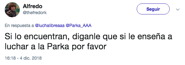 La Parka, AAA, Niño, Semáforo, Lucha Libre