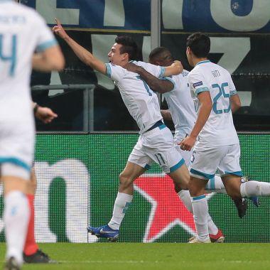 Chucky Lozano Gol Champions League Inter de Milán