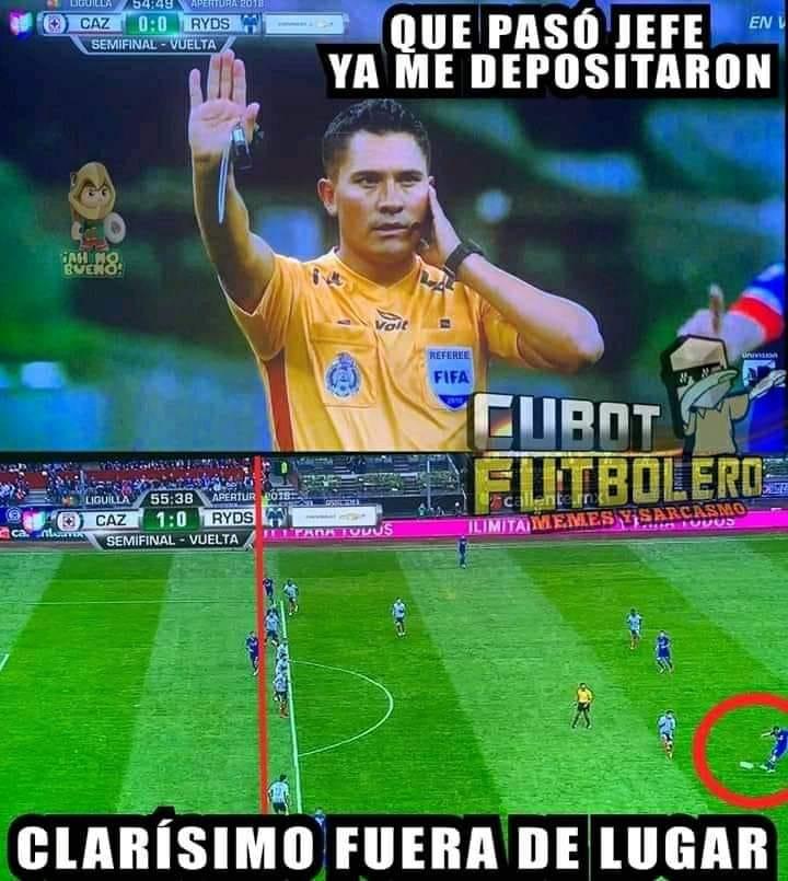 Memes de que Cruz Azul vence a Monterrey en Semifinal