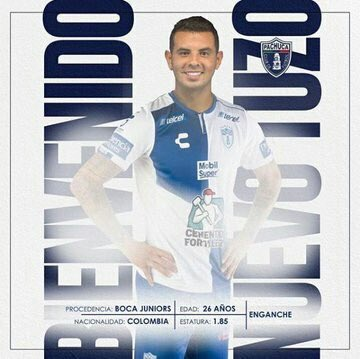 Edwin Cardona, Clausura 2019, Pachuca, Refuerzo Los Pleyers