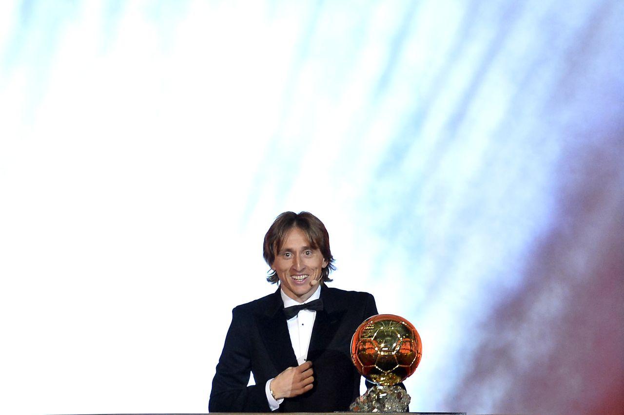 Balón Oro, Luka Modric, Nominados, 2018, Los Pleyers