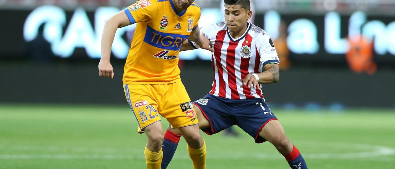 Jesus Dueñas Orbelin Pineda Tigres Chivas Liga MX