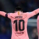 Lionel Messi, Barcelona, Espanyol, Goles Los Pleyers