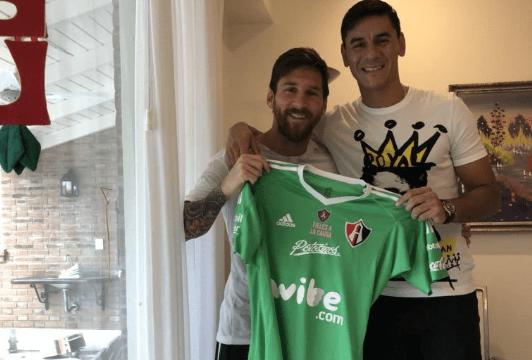 Lionel Messi Aficionado Atlas Instagram Sigue