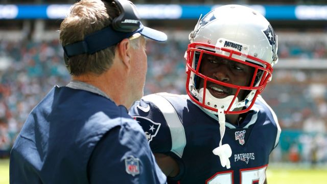 15/0972019. Patriots de la NFL anuncian despido de Antonio Brown