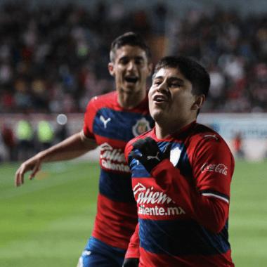 04/01/2020, Chivas, Eduardo López, Gol, Pretemporada
