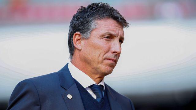 11/01/2020, Siboldi culpa a árbitro por derrota de Cruz Azul frente a Atlas en Clausura 2020