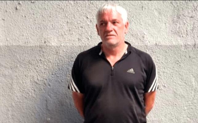 09/01/2020. Detención Árbitro Violador Los Pleyers, Imagen de su detención.