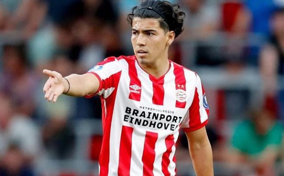 01/12/2019. Erick Gutiérrez Besiktas PSV Fichaje Los Pleyers, Erick Gutiérezen un partido de esta temporada.
