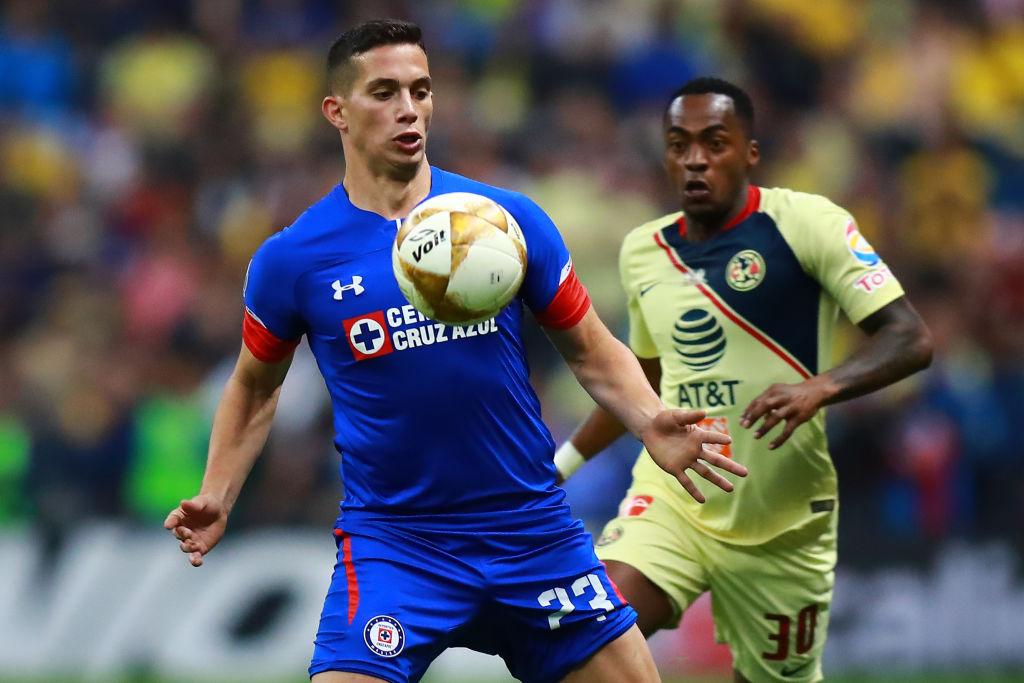 13/12/2018. Iván Marcone América Cruz Azul Refuerzo Los Pleyers, Ivám Marcone en la Final del Apertura 2018.