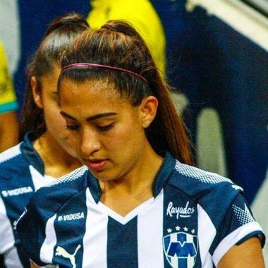 01/04/2018, La exjugadora de la Liga MX Femenil Sarahí Leyva dejó Rayadas para ser modelo fitness