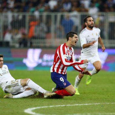 12/01/2019. La jugada de la Supercopa de España entre Real Madrid y Atlético fue una barrida de Federico Valverde que mandó a penales