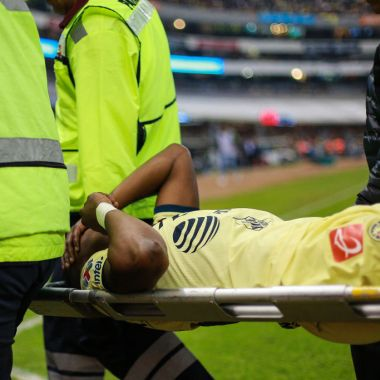 08/12/2019. Renato Ibarra se perdería tres meses del Clausura 2020 con América por lesión que requeriría operación
