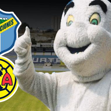 19/02/2019 Comunicaciones, Guatemala, América, Gasparín, Concacaf, Mascota, mascota del Comunicaciones de Guatemala