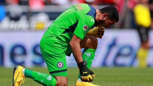 02/02/2020, José de Jesús Corona, Portero, Cruz Azul, Liga MX