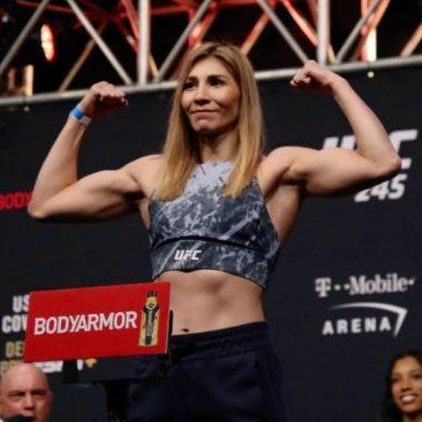 15/01/2020, UFC: Irene Aldana es inspiración de fanáticos en las artes marciales mixtas